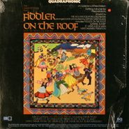 Hollywood Pops Orchestra, Fiddler On The Roof [Quadrophonic] (LP)