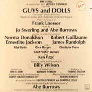 Frank Loesser, Guys and Dolls [1976 Broadway Cast] (LP)