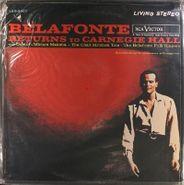 Harry Belafonte, Returns To Carnegie Hall (LP)