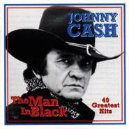 Johnny Cash, The Man In Black: 40 Greatist Hits (CD)