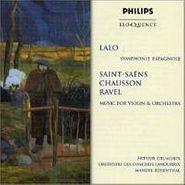 Arthur Grumiaux, Lalo: Symphonie Espagnole/Saint Saens/Chausson/Ravel (CD)