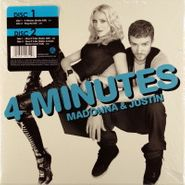 """Madonna, 4 Minutes / Give It 2 Me (7"""")"""