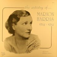 Marion Harris, The Artistry Of Marion Harris 1924-1934 (LP)