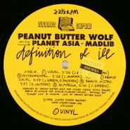 "Peanut Butter Wolf, Definition Of Ill (12"")"