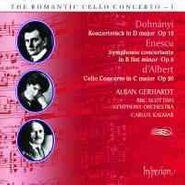 Ernst von Dohnányi, Dohnanyi/Enescu/d'Albert: Cello Concertos (CD)