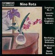 Nino Rota, Rota: Symphony No. 3/Concerto Festivo (CD)