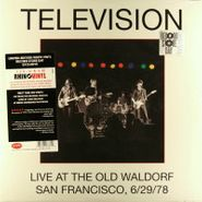 Television, Live At The Old Waldorf San Francisco 6/29/78 (LP)