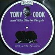 Tony Cook & The Party People, Back To The Old School (CD)