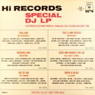Various Artists, Hi Records Special DJ LP (LP)