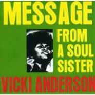 Vicki Anderson, Message From A Soul Sister / Female Preacher (CD)