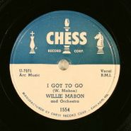 Willie Mabon, I Got To Go / Cruisin' (78)