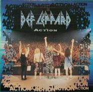 "Def Leppard, Action / Miss You In A Heartbeat (Phil's Demo) (7"")"