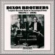 The Dixon Brothers, The Dixon Brothers, Vol. 1: 1936(CD)