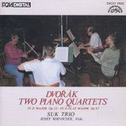 Antonin Dvorák, Dvorak: Two Piano Quartets [Import] (CD)
