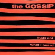 The Gossip, That's Not What I Heard (CD)