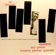 Horace Parlan, Speakin' My Piece [Import] (LP)
