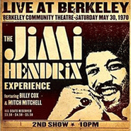 The Jimi Hendrix Experience, Live At Berkeley (CD)