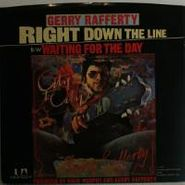 """Gerry Rafferty, Right Down The Line / Waiting For The Day (7"""")"""