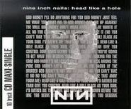 Nine Inch Nails, Head Like A Hole (CD)