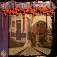 """Peanut Butter Wolf, Run The Line / The Undercover (Clear & Present Danger) (12"""")"""