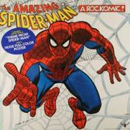 Ron Dante, The Amazing Spider-Man: From Beyond The Grave - A Rockomic (LP)