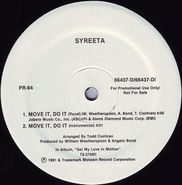"""Syreeta, Move It, Do It / Can't Shake Your Love (12"""")"""