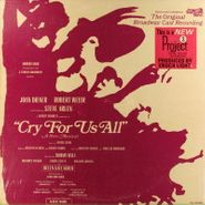 Various Artists, Cry For Us All [Original Broadway Cast] (LP)