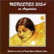 Mercedes Sosa, En Argentina (CD)