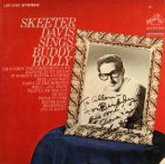 Skeeter Davis, Skeeter Davis Sings Buddy Holly [Signed] (LP)