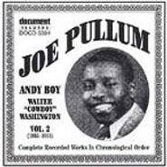 Joe Pullum, Complete Recorded Works Vol. 2 (1933-1951) (CD)