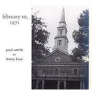 Patti Smith, February 10, 1971 (CD)