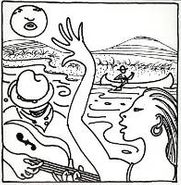 "Michael Hurley, Jocko's Lament / River In The Rain (7"")"