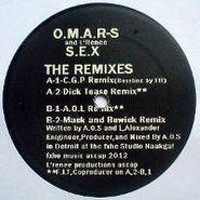 "Omar S, S.E.X. -  The Remixes (12"")"