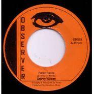 """Delroy Wilson, False Rasta (7"""")"""