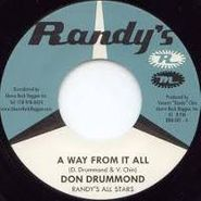 "Don Drummond, A Way From It All / Blow Roland Blow (7"")"
