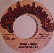 """Sister Nancy, Bam Bam (7"""")"""