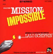 Lalo Schifrin, Music From Mission Impossible (LP)