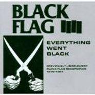 Black Flag, Everything Went Black (CD)