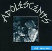 Adolescents, Live 1981 & 1986 (CD)