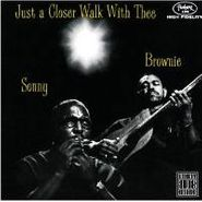Sonny Terry & Brownie McGhee, Just A Closer Walk With Thee (CD)