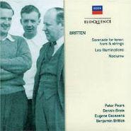 Benjamin Britten, Britten: Serenade for Tenor, Horn & Strings / Les Illuminations / Nocturne (CD)