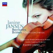Janine Jansen, Beethoven / Britten: Violin Concertos (CD)