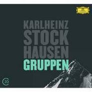 Karlheinz Stockhausen, Stockhausen / Kurtág: Gruppen für drei Orchester / Grabstein für Stephan / Stele (CD)