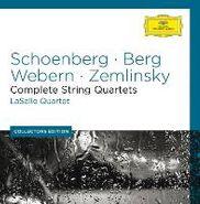 LaSalle Quartet, Schoenberg/Berg/webern (CD)