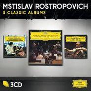 Mstislav Rostropovich, Rostropovich-Three Classic Albums(CD)
