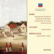 Josef Krips, Haydn / Schubert / Mendelssohn: Symphonies 92, 94, 99, 102 / Symphony 6 / Symphony 4 (CD)