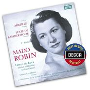 Mado Robin, Most Wanted Recitals: Mado Robin - Extraits de Gounod: Mireille / Donizetti: Lucie de Lammermoor (CD)