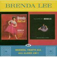 Brenda Lee, Brenda That's All/All Alone Am I (CD)