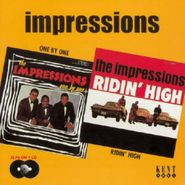 The Impressions, One By One/Riding High (CD)