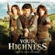 Steve Jablonsky, Your Highness [OST] (CD)